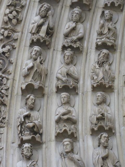 Notre Dame Entrance Sculpture