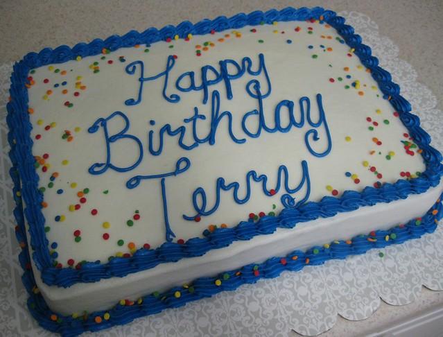 Happy Birthday Terri Birthday Cakes