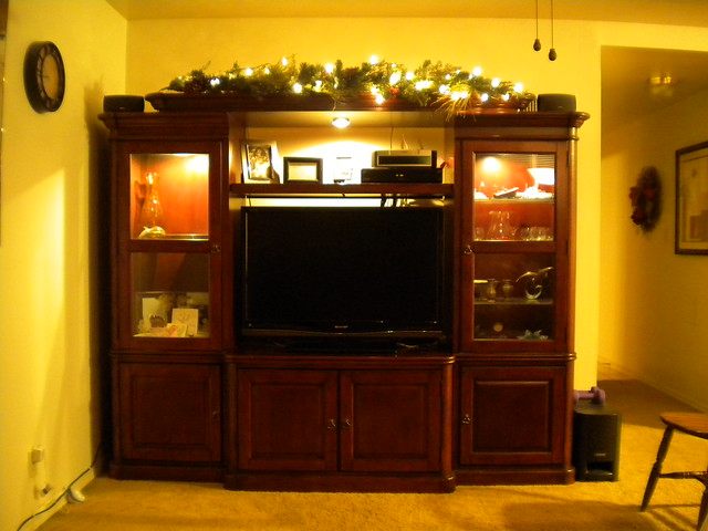 Cherry Wood Entertainment Center 1 Flickr Photo Sharing