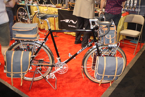 Euro-Asia Imports, Gilles Bertoud Bike w/ all the appropriate bags