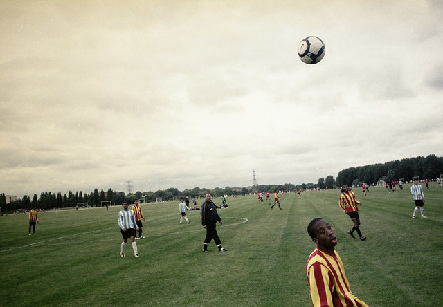 Football, hackney marshes - The Decisive Moment in Street Photography