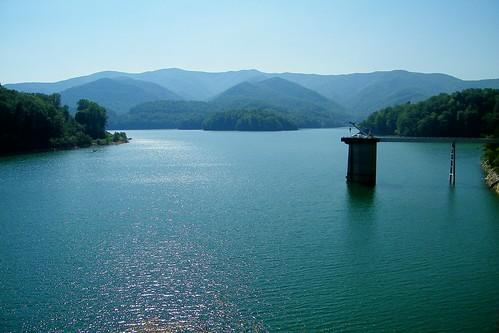 lake dam appalachian watauga