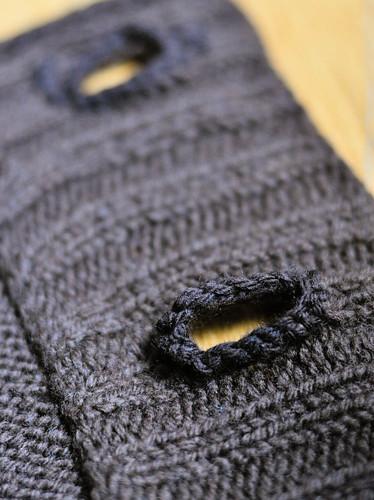 Każdy może zrobić dziurkę na guzik na drutach
