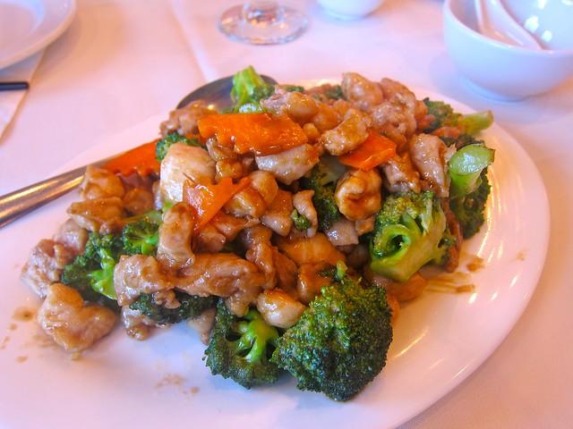 Diced Chicken & Broccoli | Golden Great Wall Szechuan Restaurant