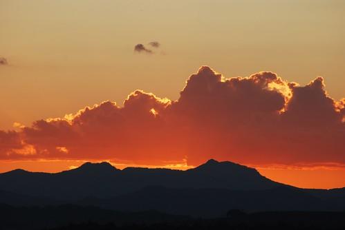 sunset nature lookouts kooralbyn