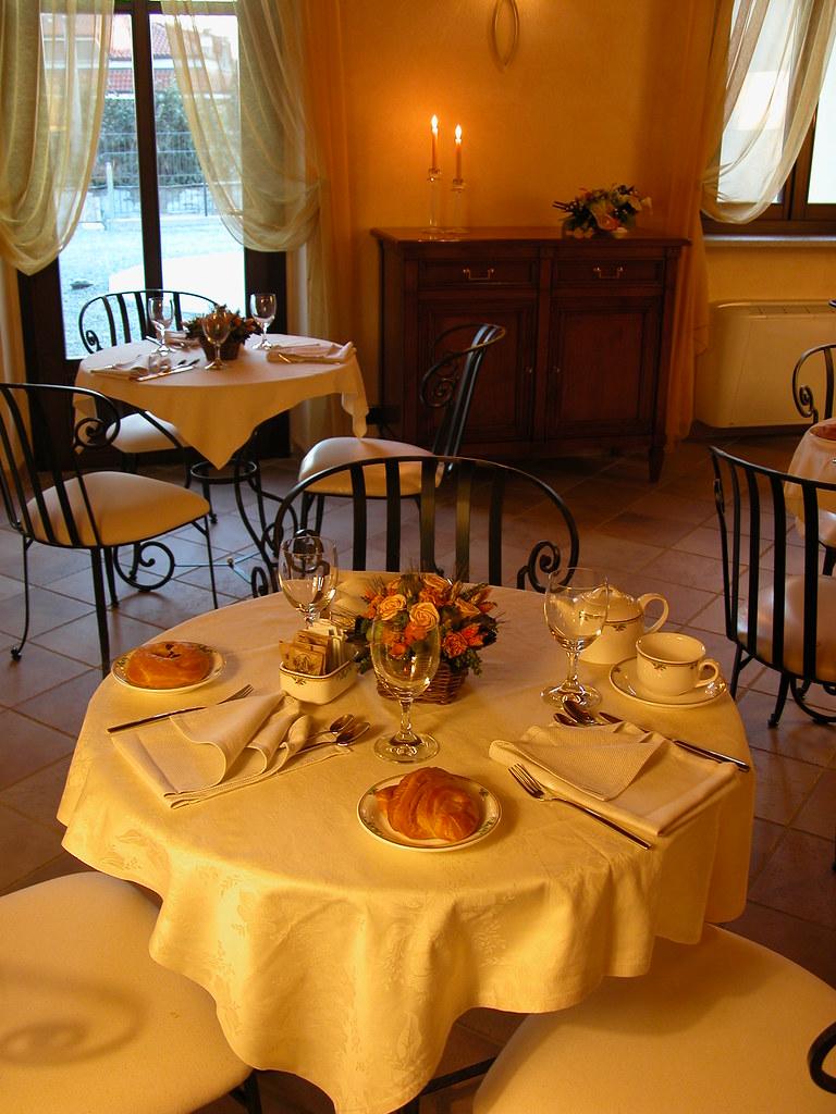 Sala prima colazione - Breakfast Room Hotel Le Rondini