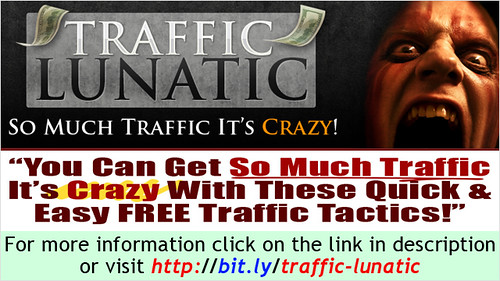 Not enough web traffic? Discover in these videos how to drive traffic like crazy to your site.