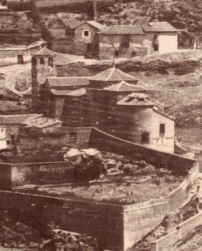 Iglesia de San Lucas en 1857. Fotografía de Charles Clifford (detalle)