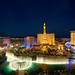 Las Vegas Bellagio Fountains Panorama by Visualist Images