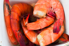 crab boil(0.0), seafood boil(0.0), caridean shrimp(0.0), fish(0.0), dungeness crab(0.0), homarus gammarus(0.0), homarus(0.0), american lobster(0.0), shrimp(1.0), animal(1.0), dendrobranchiata(1.0), crustacean(1.0), seafood(1.0), invertebrate(1.0), food(1.0),