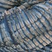 New Indigo shibori scarves on Silk