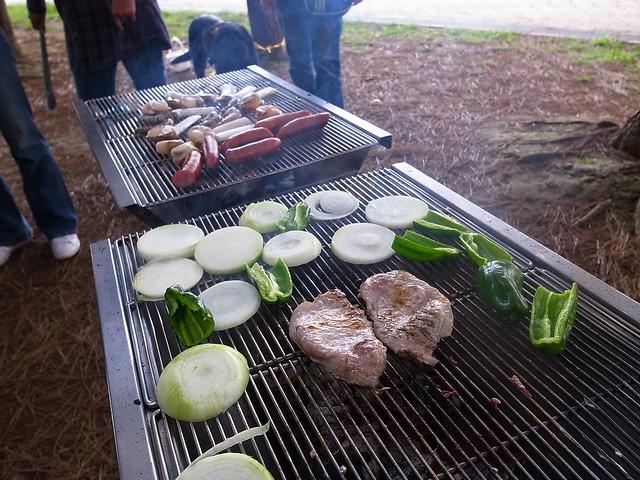 バーベキュー(潮風公園, お台場) Barbecue @ Shiokaze Koen, Odaiba