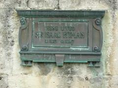 Photo of Isaac Pitman bronze plaque