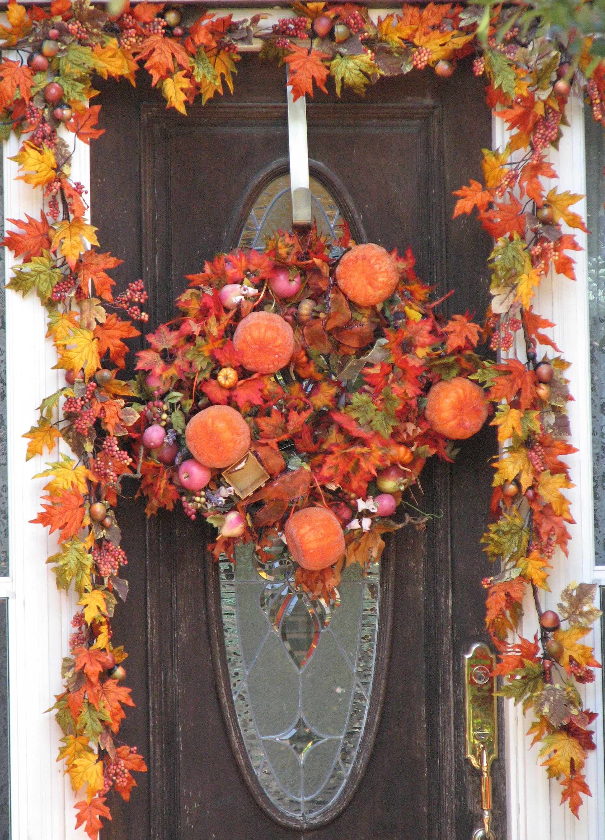 Pumpkin Door