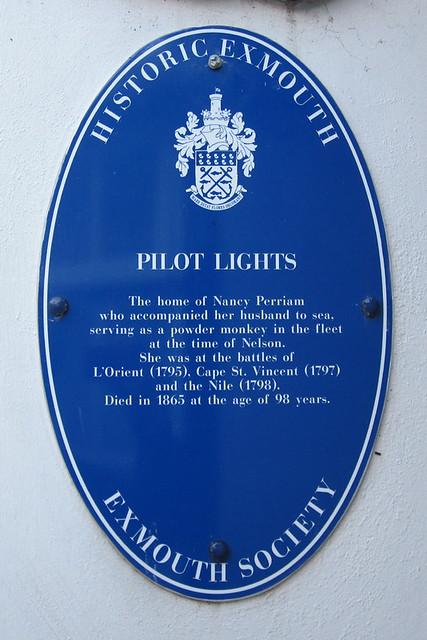 Photo of Nancy Perriam blue plaque