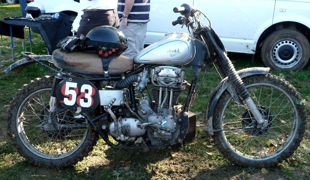 20eme Norman Scramble Sarolea 500 1954
