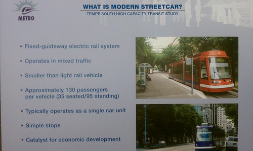 METRO meeting discussion; What is Modern Streetcar. #RailLife