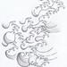 Japanese Water Tattoo by jammy sam