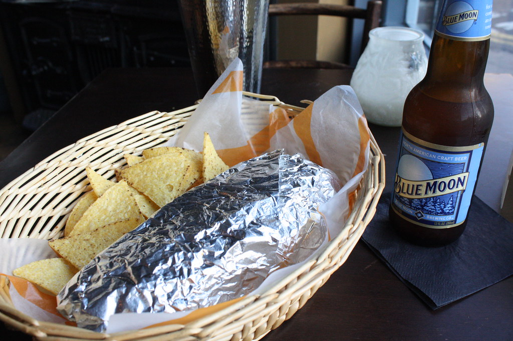 Enjoy a Burrito + Beer in a Thrift Shop