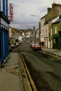 Main Street, Ennistymon, Co Clare, April 1989