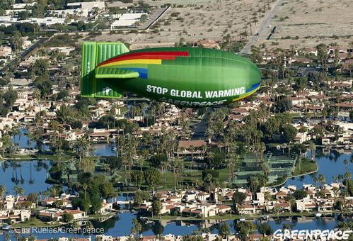Palm Springs Airship Flight