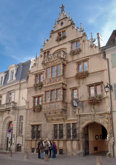 la maison des t 234 tes colmar construite en 1609 pour le co flickr photo