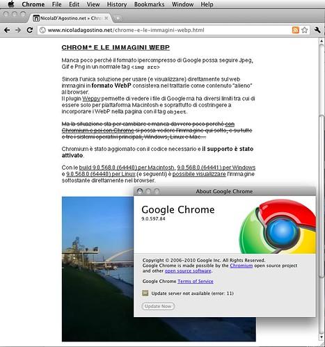 WebP anche su Chrome stabile