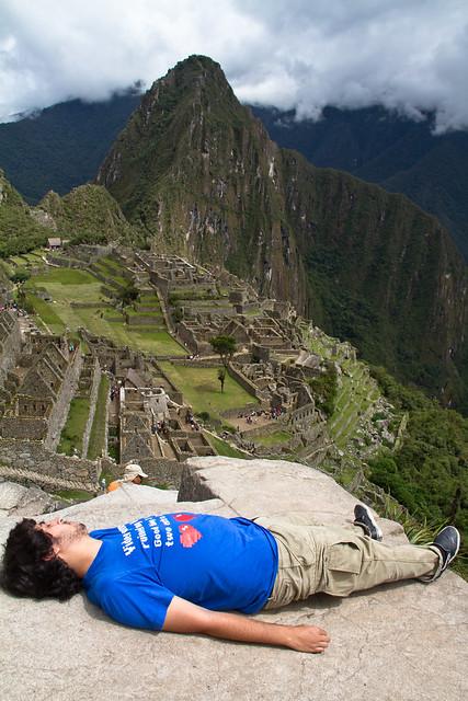 Un canario en el Machu Pichu