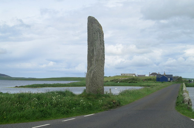 Watchstone and Ness of Brodgar