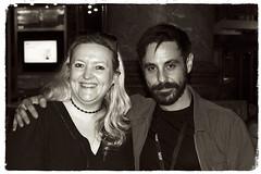 Emun Elliot with Anne-Marie Humphreys @PressNight of Fatherland MIF2017