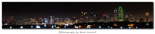 skyline night dallas nikon stitch panoramic d300 afsnikkor70200mmf28gedvrii 70200vrii 2010052738553866pano1400