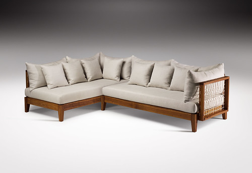 Riempie L Shape Couch, Designed by Haldane Martin, Photo Justin Patrick