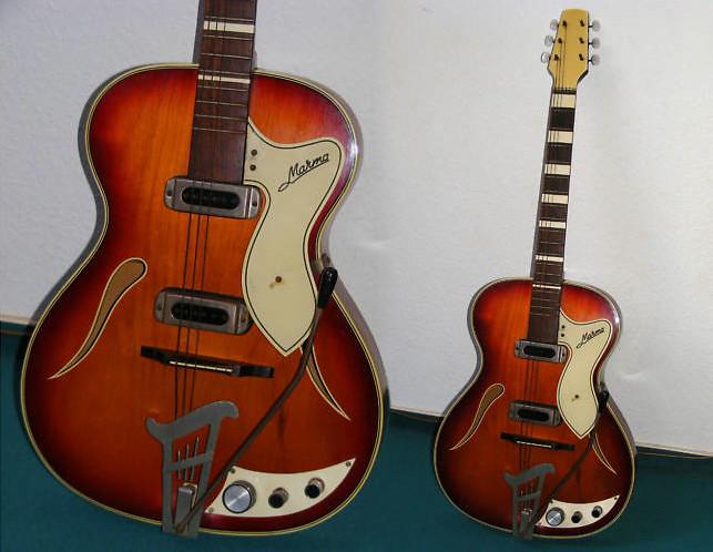 guitar blog marma hollow body guitar. Black Bedroom Furniture Sets. Home Design Ideas