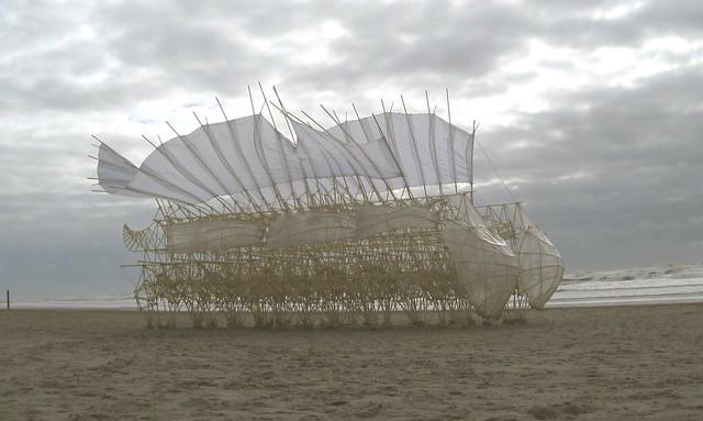 Strandbeest von Theo Jansen - zondag 3