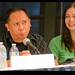 Len Peralta & Veronica Belmont on the Podcasting Track of Dragoncon by madmarv00