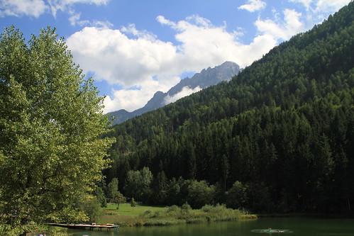 Tristacher See am 19.8.2010