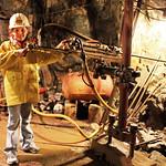 Visite d'une mine d'or à Silverton