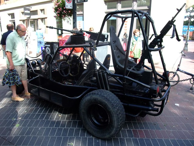 1994 DPV  Fully armed dune buggy