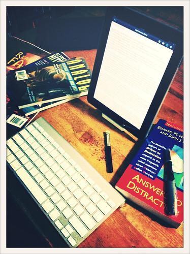 Writing Hard