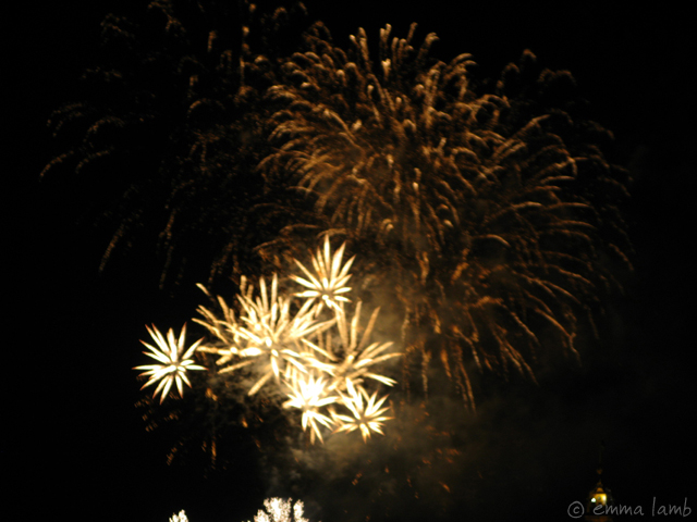 The Edinburgh Festival fireworks finale, 2010 // going out with a bang | Emma Lamb