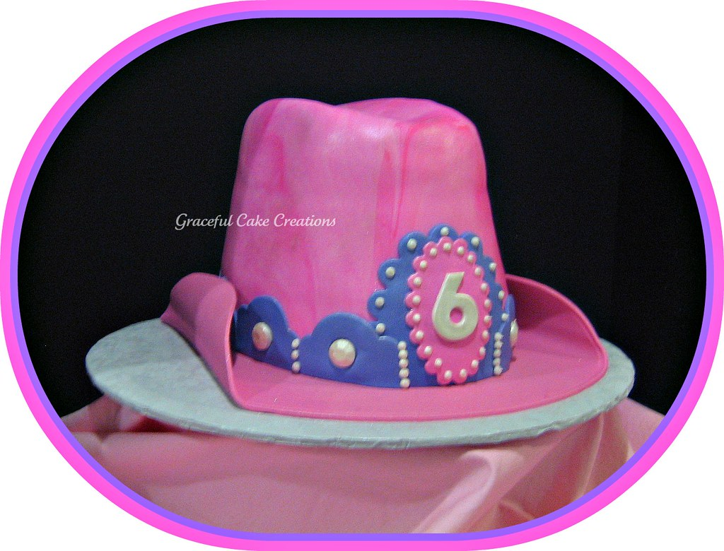 Cowgirl Hat Birthday Cake  1abb77d673d
