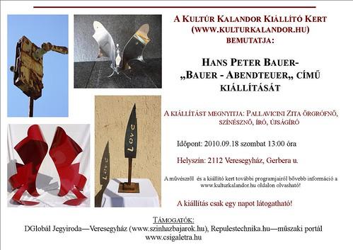 Hans Peter Bauer: Bauer - Abendteuer