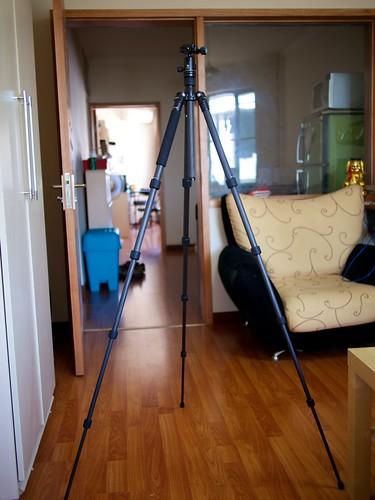 New tripod standing