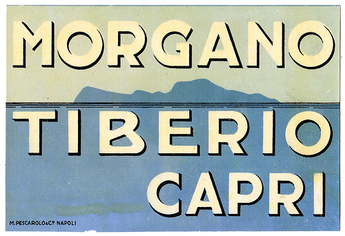 Capri - Morgano Tiberio by Luggage Labels by b-effe