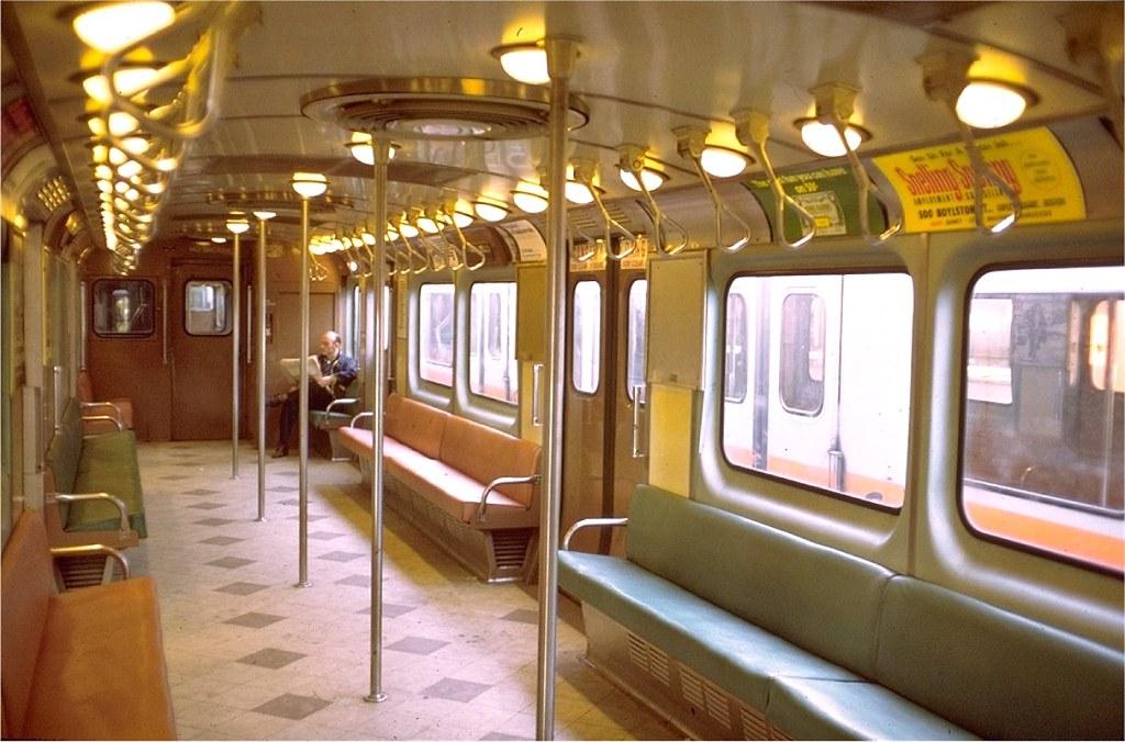 Ck4049s most interesting flickr photos picssr mbta orange line pullman rapid car 01190 interior 7 6 1972 sciox Gallery