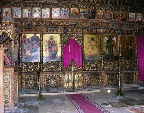Iconostasis, Holy Trinity Church, Monastery of Ardenica, Ardenicë, Albania