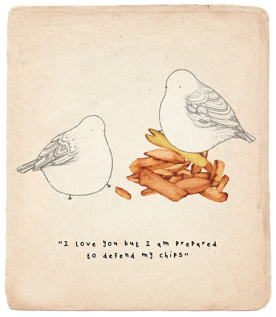 Little Birds like chips too