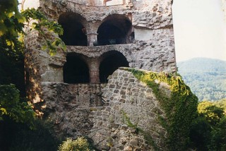 Heidelberg Castle, Germany 1990