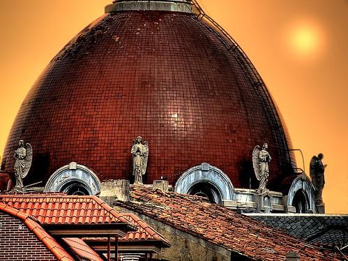 sunset españa church atardecer spain asturias oviedo sanjuanelreal ernestofalkenthal