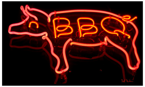 I Shot the Bar B Q Pit